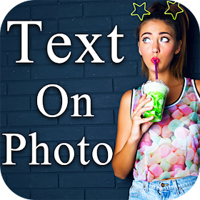Photo Editor Text Effects - Text on photo