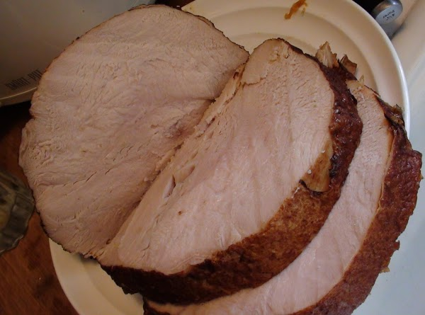 Remove the turkey meat from the crock pot and set aside on a platter....