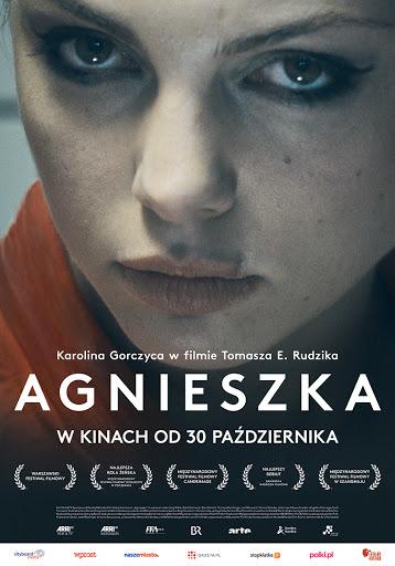 Polski plakat filmu 'Agnieszka'