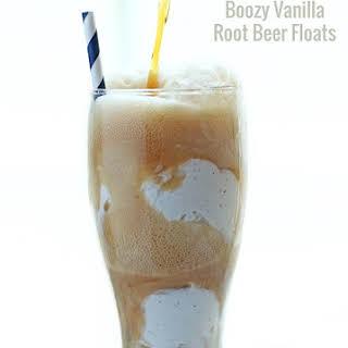 Boozy Vanilla Root Beer Float - Low Carb.