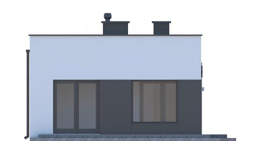 G248 - Budynek rekreacji indywidualnej - Elewacja lewa