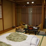 the lounge in the $500 Ryokan at Senkei in Yumoto, Hakone in Hakone, Kanagawa, Japan