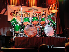 Photo: Simon Phillips' kit