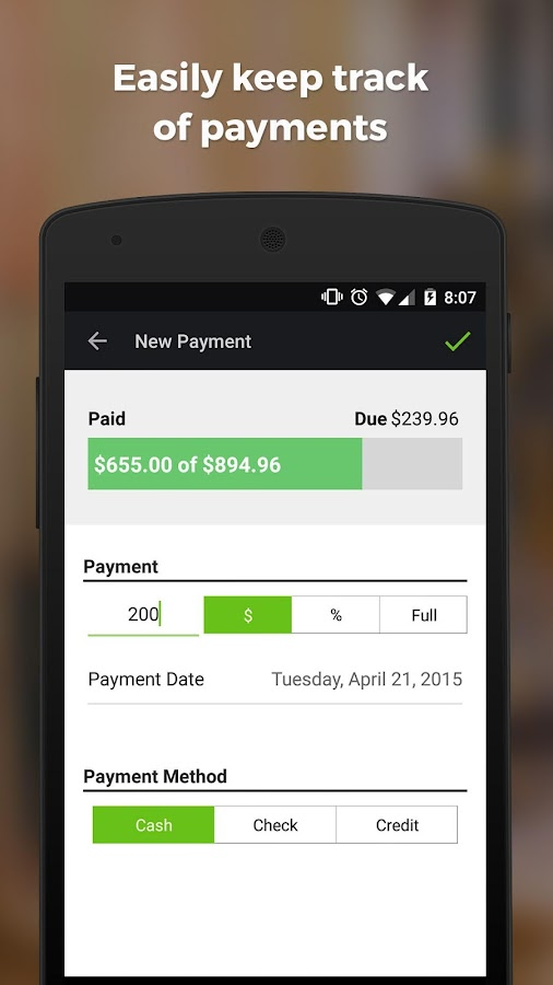 contractor estimate & invoice - android apps on google play, Invoice templates