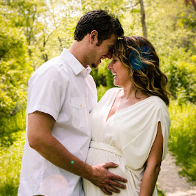 Ecstatic Couple by Jess Anderson - People Maternity ( maternity, new parents, family, new father, couple )