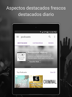 Podcast Radio Música- Castbox Screenshot