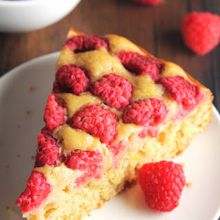Simple Raspberry Lemon Cake
