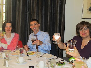 Photo: Day 1 - Chris and other attendees enjoying dinner
