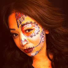 Photo: Day of the Dead Sugar Skull face painting by Raelynn, Azusa, Ca. Call to book her today! 888-750-7024