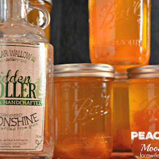Peach Pie Moonshine.