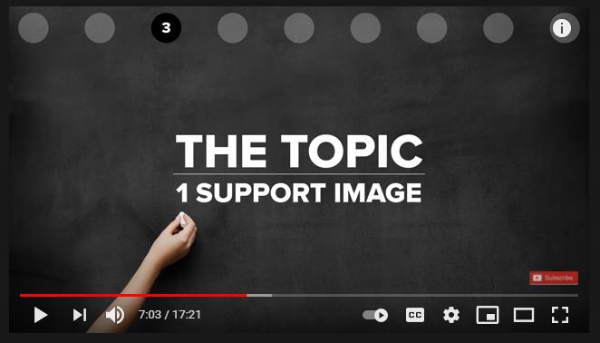 live presentation tips slides