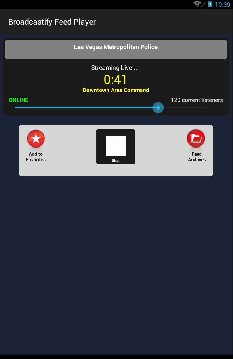 Broadcastify Police Scanner Pro Screenshot 6
