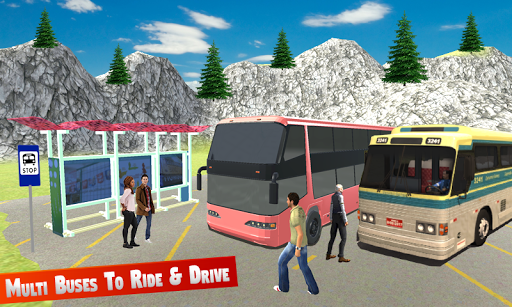 Modern Bus Game Simulator apktram screenshots 5
