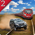 Train Vs Prado Racing 3D 2