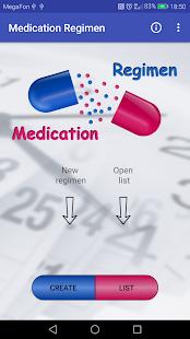 Medication regimen - náhled