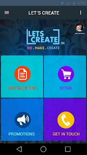Lets Create - náhled