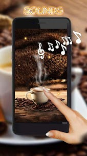 Coffee live wallpaper 1