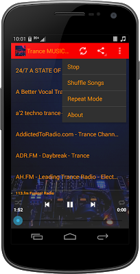 Trance MUSIC Radio - screenshot