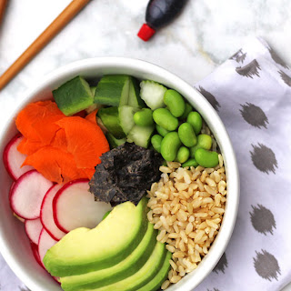 Vegan Deconstructed Sushi Bowl {Vegan & Gluten Free} Recipe