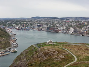 Photo: St John's Newfoundland harbour.