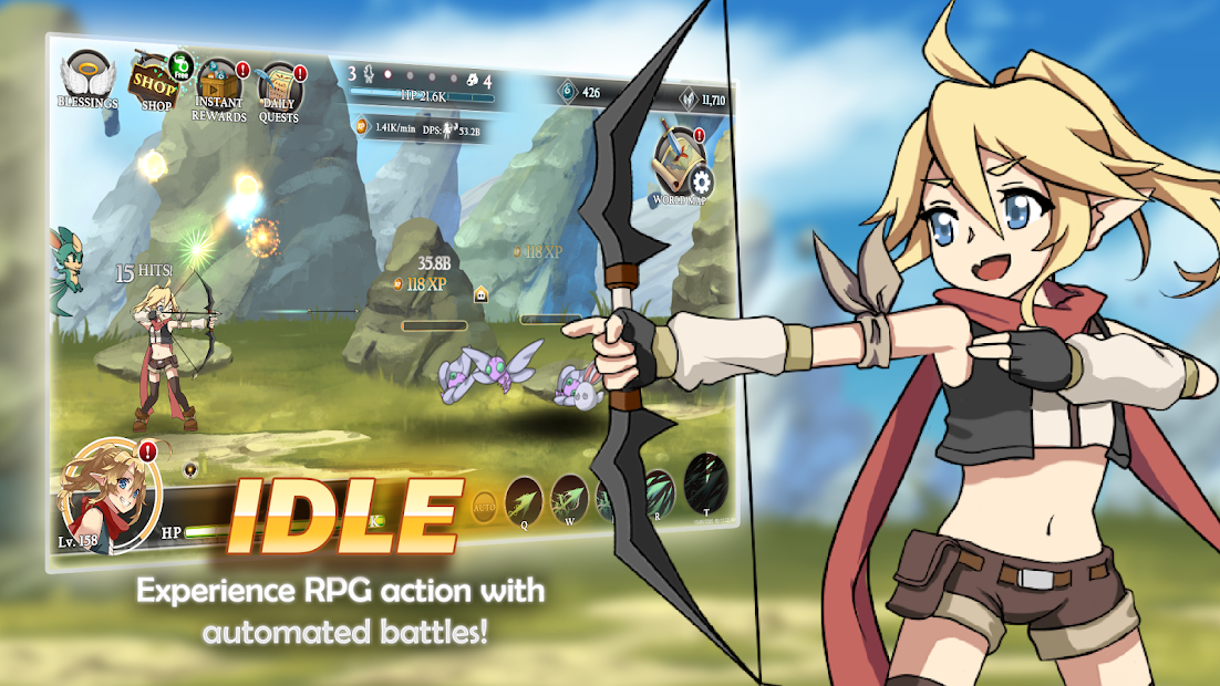 Re:Archer – Idle Anime RPG