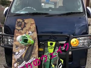 ハイエースバン  H31/4 4WD寒冷地仕様のカスタム事例画像 タニエースさんの2019年08月07日00:18の投稿