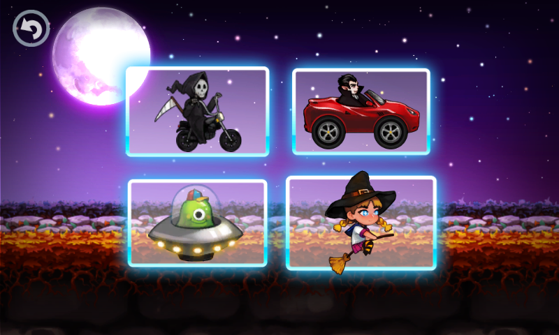 Halloween Town Racing- screenshot