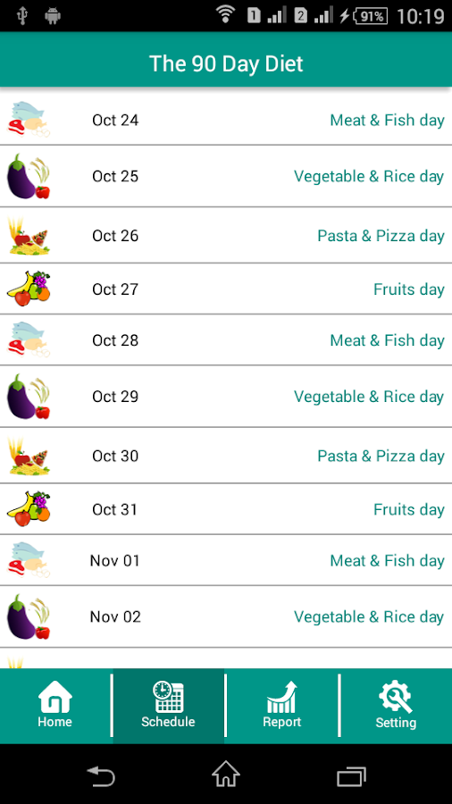 The 90 Day Diet (Updated)- screenshot