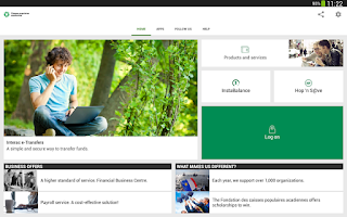 Screenshot of Caisses populaires acadiennes