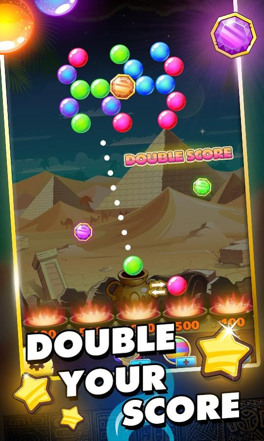 Bubble Ball Pop Marble Blast- screenshot