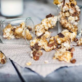 Chocolate & Toffee Caramel Popcorn.