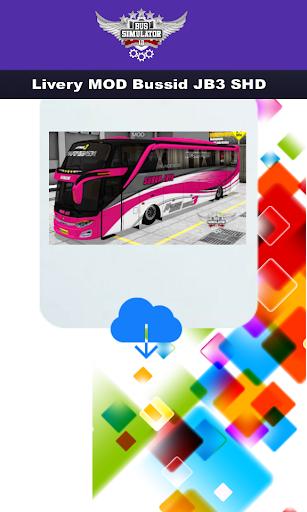 Livery MOD Bussid JB3 SHD 4.0 screenshots 3