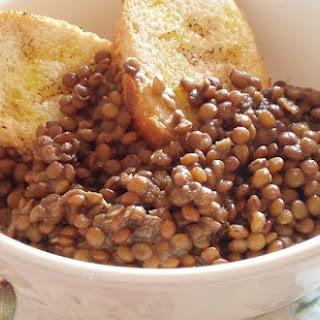 Lentil Thick Soup