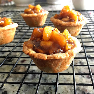 Mini Chai Tea Apple Pies.
