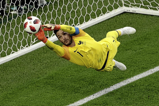Hugo Lloris makes a save during France's match against Belgium at Saint Petersburg Stadium, Saint Petersburg, Russia, July 10 2018. Picture: REUTERS