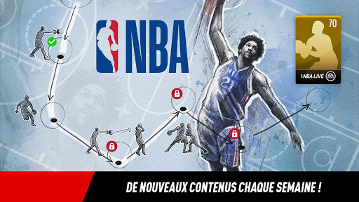 NBA LIVE Mobile Basket-ball  captures d'écran 3
