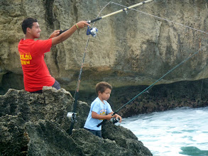 Photo: Fishing at La'le Point