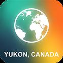 Yukon, Canada Offline Map icon
