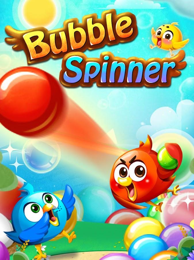 bubble spinner app
