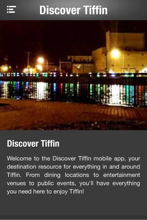 Discover Tiffin!- screenshot