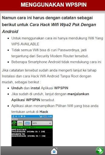 Cara Tampilkan Password Wifi 1.0 screenshots 2