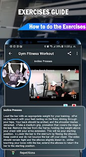 Gym Fitness & Workout : Personal trainer Screenshot