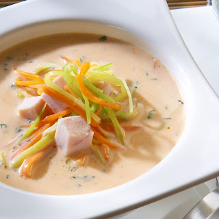 Thai-Suppe mit Kokosmilch