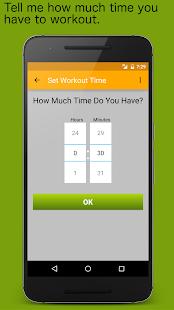 Random Workout Generator - náhled