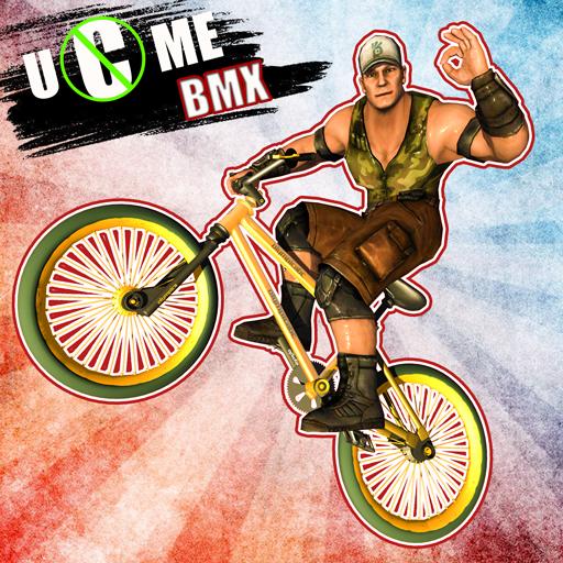 Wrestlers Bike Race Free