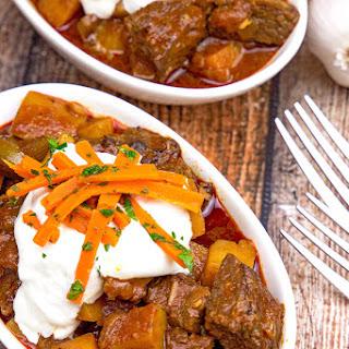 Hungarian Paprika Chicken Goulash Recipes.