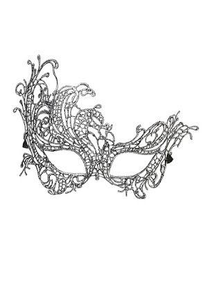 Ögonmask, barock spets