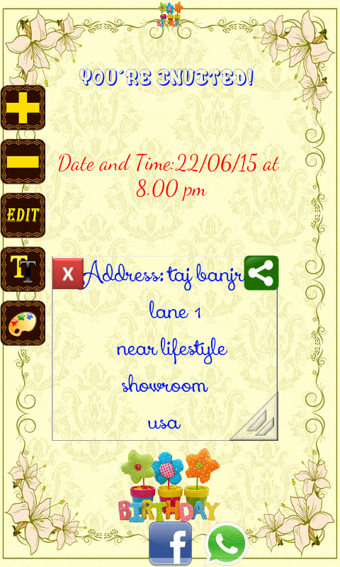 Birthday Invitation Card Maker Apk Android Gratuit