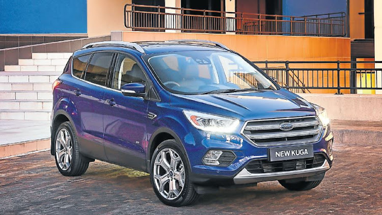 The Ford Kuga 2.0 TDCI Titanium model is a pretty and capable SUV.