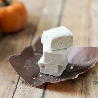 Pumpkin Pie Spice Marshmallows